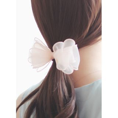 kitsch island - Mesh Bow Hair Tie