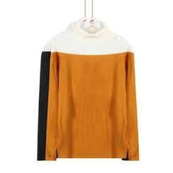 Momewear - Color-Block Sweater