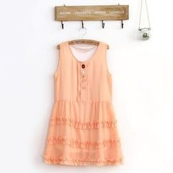 11.STREET - Sleeveless Chiffon Dress