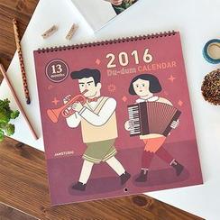 BABOSARANG - 'Du-dum' Series 2016 Wall Calendar (L)