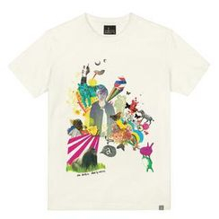 the shirts - Boy with Animals Print T-Shirt