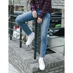 STYLEMAN - Washed Skinny Jeans