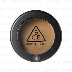 3 CONCEPT EYES - One Color Shadow - Matt (Tanned Brown)