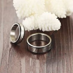 Tenri - Couple Matching Stainless Steel Ring