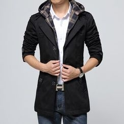 Bay Go Mall - Hooded Coat