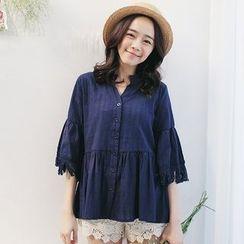 Tokyo Fashion - Fringed Blouse