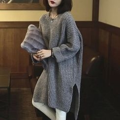 Hibisco - Thick Long Sweater