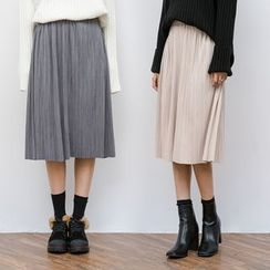 Heynew - Accordion Midi Skirt