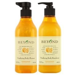 BEYOND - Vitalizing Grand Body Set : Shower 450ml + Lotion 450ml