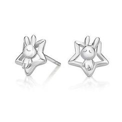 Kenny & co. - 925 Silver Rabbit C in Star Earring