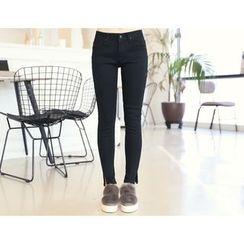 DANI LOVE - Slit-Hem Skinny Pants