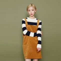 Envy Look - Striped Ribbed Knit Top