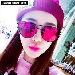 UnaHome Glasses - 多边形太阳眼镜