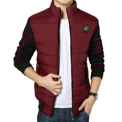 RUYA - Color-Block Padded Jacket