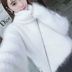 lilygirl - Thick Turtleneck Sweater
