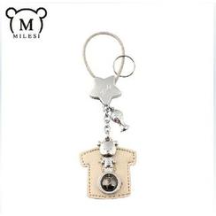 MILESI - 小熊 T 恤钥匙扣