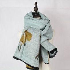 Ms Bean - 印花围巾