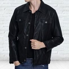 ARDAN - Faux Leather Jacket