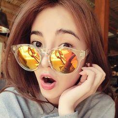 Biu Style - 圓框墨鏡