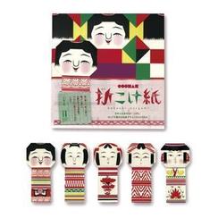 cochae - cochae : Kokeshi Origami Paper (5 Types x2 Sheets)