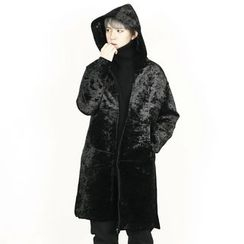 Rememberclick - Hoodie Long Zip-Up Jacket