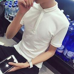 maxhomme - Short-Sleeve Polo Shirt
