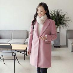 CLICK - Notch-Lapel Coat