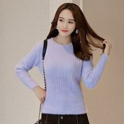 Queen Bee - Ribbed Knit Top