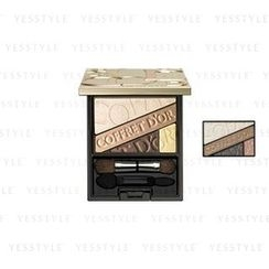 Kanebo - Coffret D'or Beauty Aura Eyes (#03 Khaki)