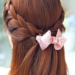 Missy Missy - Rhinestone Bow Hair Clip