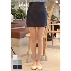 MyFiona - Zip-Back Mini Pencil Skirt