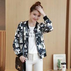 Romantica - Printed Zip Jacket