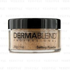 Dermablend - Loose Setting Powder (Smudge Resistant, Long Wearability) - Warm Saffron