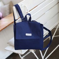 Jackpot Queen - Square Canvas Backpack