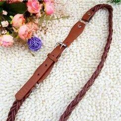 Charm n Style - Woven Slim Belt