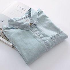Bonbon - Washed Denim Shirt