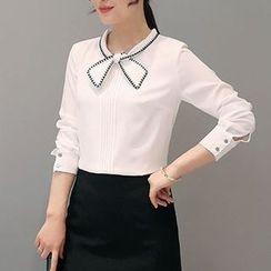 Maine - 领结带衬衫