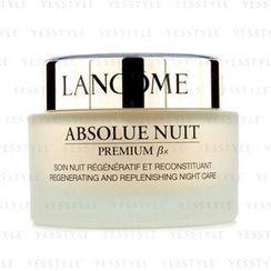Lancome - Absolue Premium BX Regenerating And Replenishing Night Cream