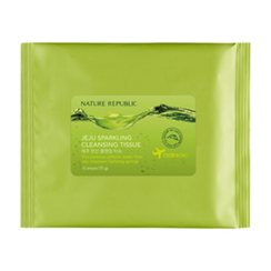 Nature Republic - Jeju Sparkling Cleansing Tissue 15pcs