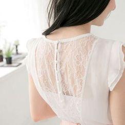 Tokyo Fashion - Lace-Panel Top