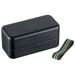 Skater - Japanese Style Simple Lunch Box (Black)
