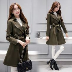 lilygirl - Double-Breasted Trench Coat