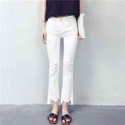Kojasmine - Boot-Cut Jeans