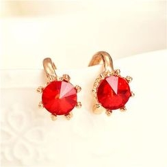 Best Jewellery - Rhinestone Clip-On Earrings