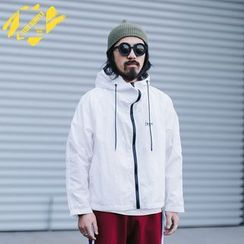 YIDESIMPLE - Hooded Light Jacket