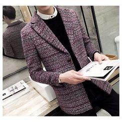 Fisen - Melange Long Coat