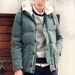 Really Point - Hooded Down Coat
