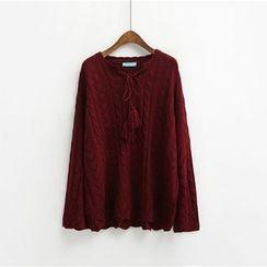 BZY - Pointelle Knit Sweater