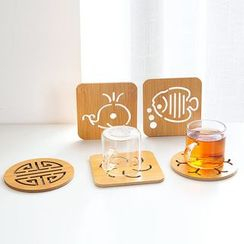 Home Simply - Cutout Coaster