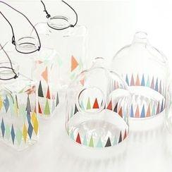 Ms Zaa - Printed Glass Jar